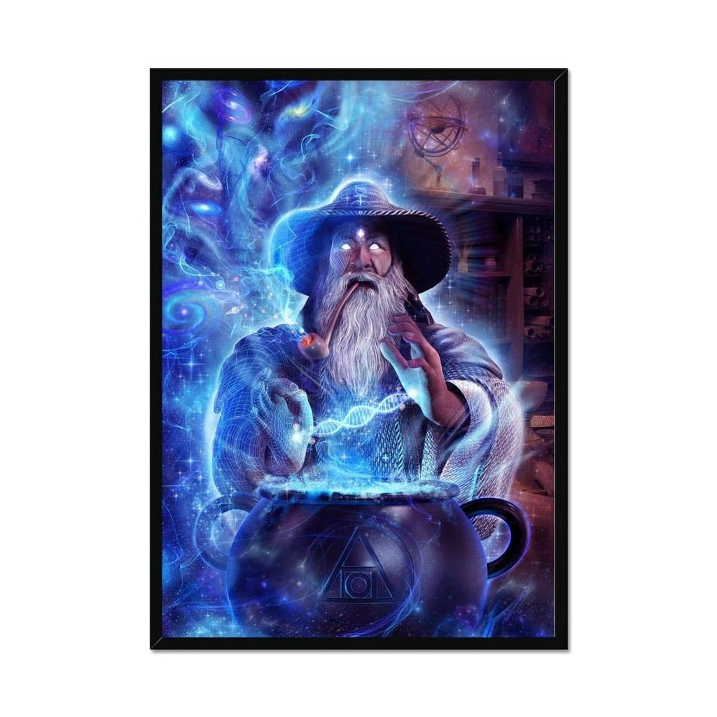 Merlin's Alchemical Secret Framed Print - PrimalAlchemy