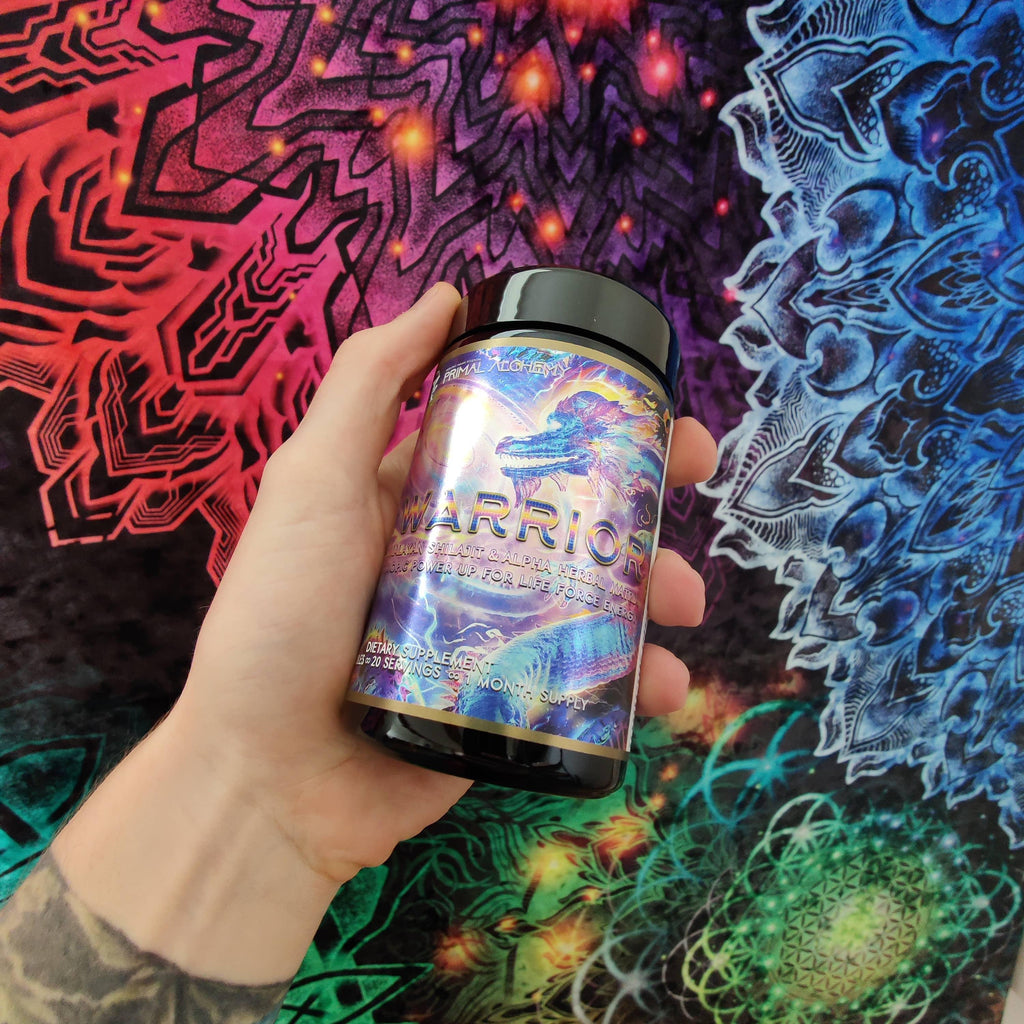 Zen Warrior ∞ Prana Charged Pre-Workout Matrix - PrimalAlchemy