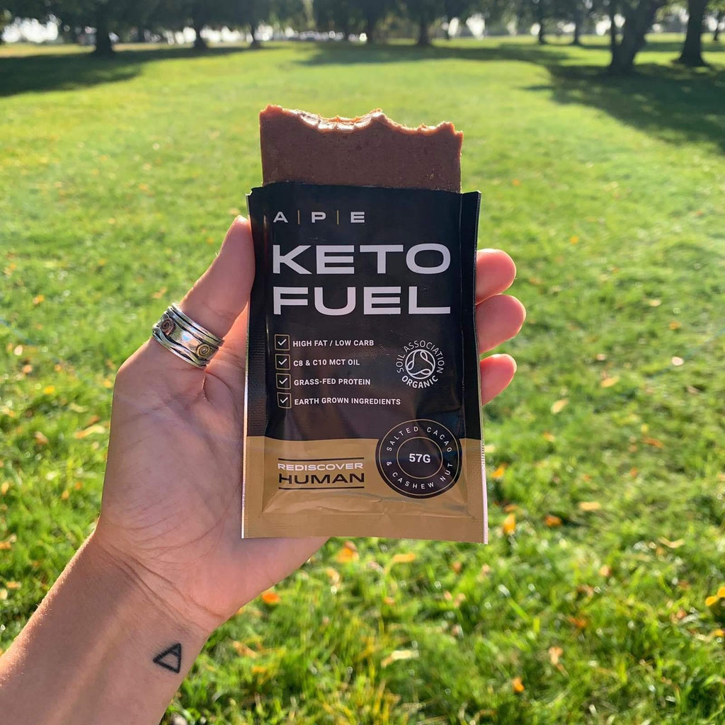 APE Nutrition Keto Fuel Bars ∞ Raw Maple & Roasted Pecan (10 pack) - PrimalAlchemy