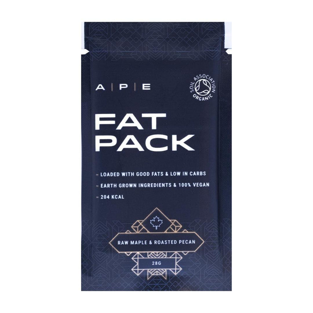 APE Nutrition Fat Pack ∞ Raw Maple & Roasted Pecan (10 Pack) - PrimalAlchemy