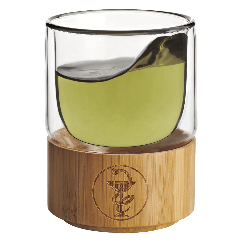 Bamboo Herbal Elixir Glass - PrimalAlchemy