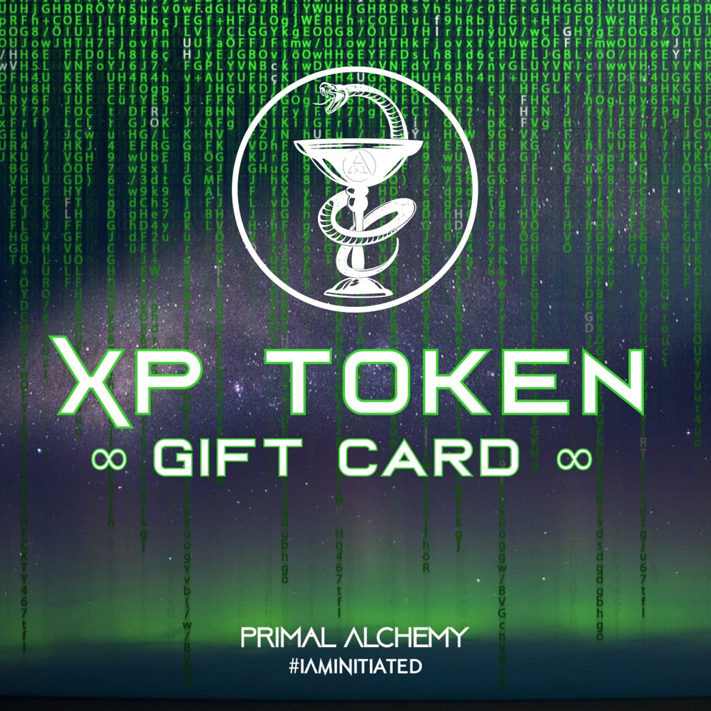 XP Token Gift Card - PrimalAlchemy