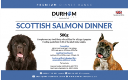 Scottish Salmon Dinner