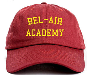"Bel-Air Academy Dad Hat ""Fresh Prince"" – Griit Co Custom Apparel c2204e0476d"