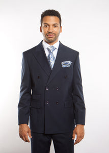 ROSSI MAN DOUBLE BREASTED SUIT ARTHUR RM116