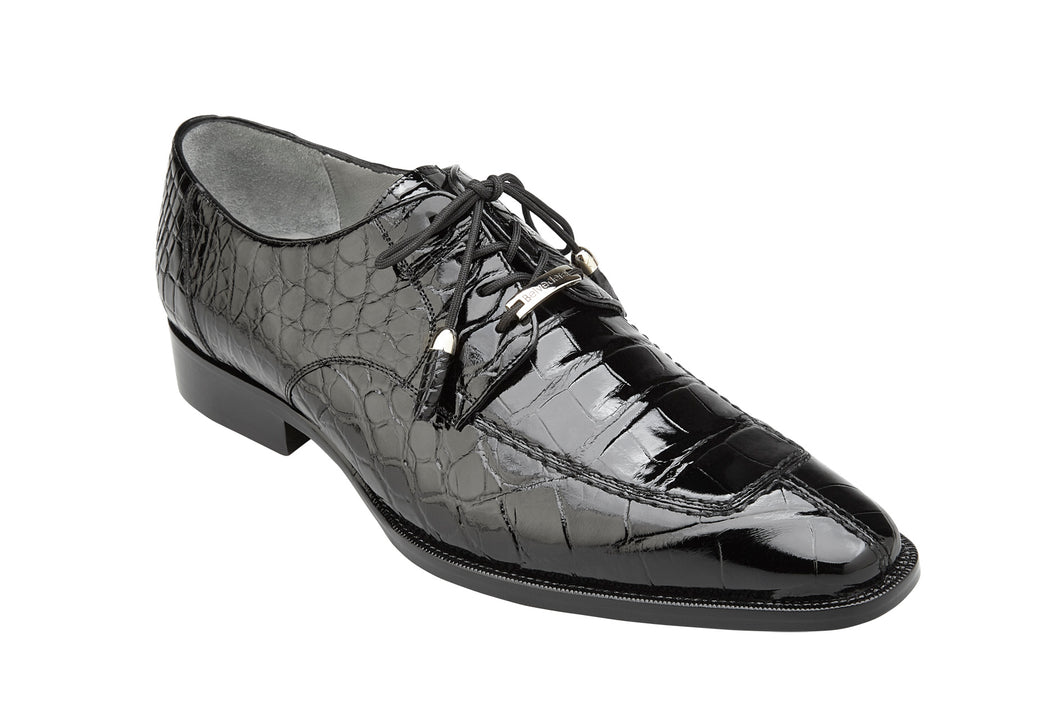 Belvedere Shoes Genuine Alligator Lorenzo Black