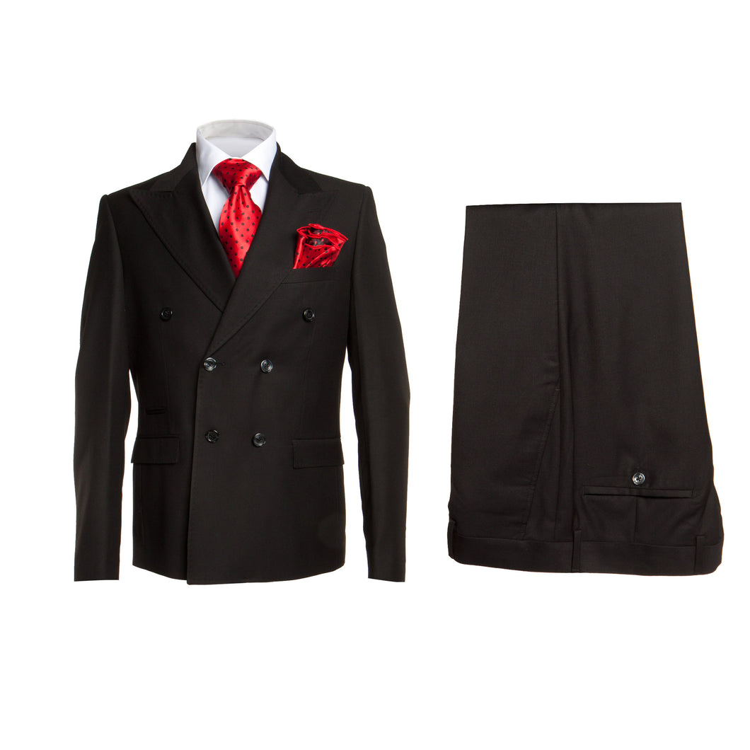 ROSSI MAN DOUBLE BREASTED SLIM FIT SUIT MILANO RM1101