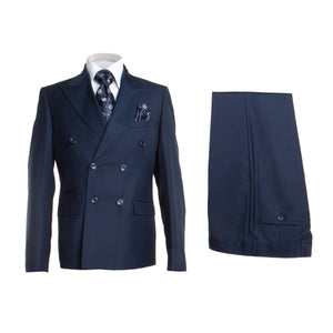 ROSSI MAN DOUBLE BREASTED SLIM FIT SUIT MILANO RM1102