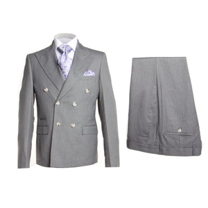 ROSSI MAN DOUBLE BREASTED SLIM FIT SUIT MILANO RM1128