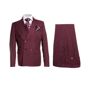 ROSSI MAN DOUBLE BREASTED SLIM FIT SUIT MILANO RM1220