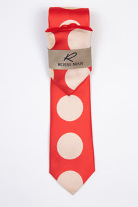 Rossi Man Tie and Pocket Round - RMR001-10