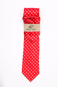 Rossi Man Tie and Pocket Round - RMR662-1