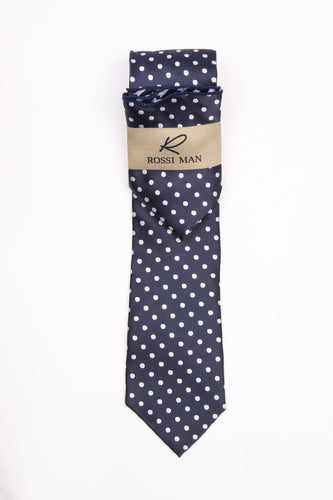 Rossi Man Tie and Pocket Round - RMR662-4