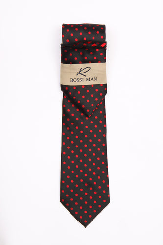 Rossi Man Tie and Pocket Round - RMR662-5