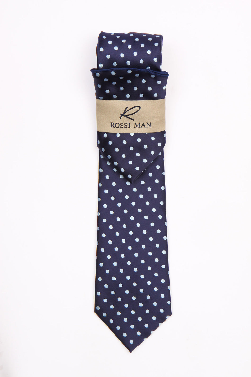 Rossi Man Tie and Pocket Round - RMR662-8