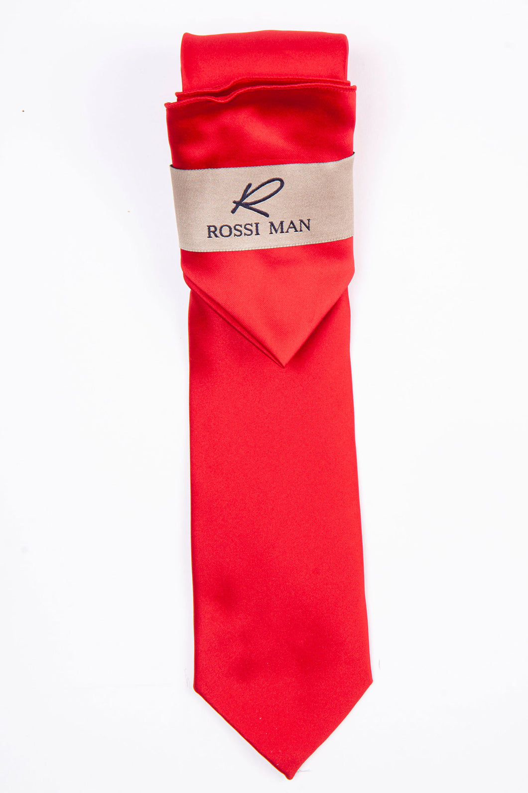 Rossi Man Tie and Pocket Round - RMR665-3