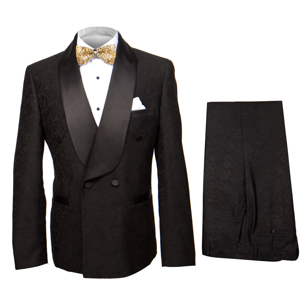 Rossi Man Smoking DBV Double Breast Tuxedo RM1068