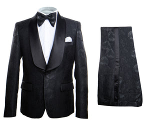 Rossi Man Smoking V Tuxedo RM1425 Matching Bow Tie