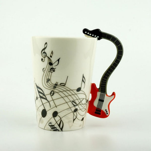 Guitar Coffee Mug -  - Flash SALE 50% Off - Limited Time