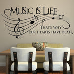 Music Is Life Wall Art -  - Flash SALE 50% Off - Limited Time