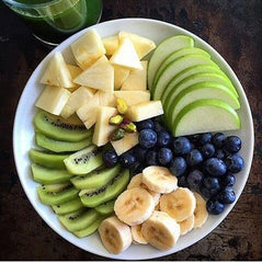 Blueberry Banana Platter
