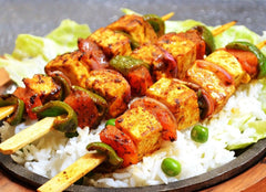 Bell Pepper and Cheese Skewers