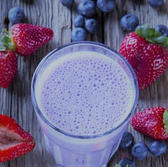 Blueberry Vegan Smoothie