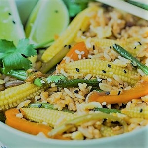 Chinese Vegetarian Fried Rice
