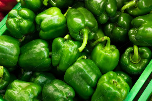 Green Bell Peppers - Organic