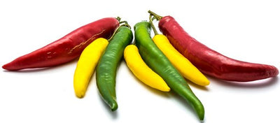 Mixed Hot Peppers - Organic