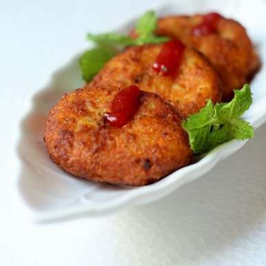 Potato Cutlet (Tikki)