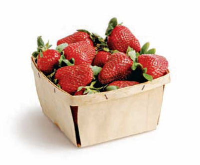 Strawberries 4oz Carton - Organic