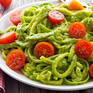 Zucchini Noodles with Pesto Sauce