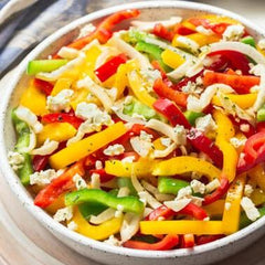 Crunchy Bell Pepper Salad