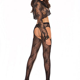 lace-suspender-pantyhose