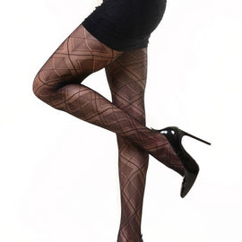 Lady's Fashion Designed Fishnet Pantyhose