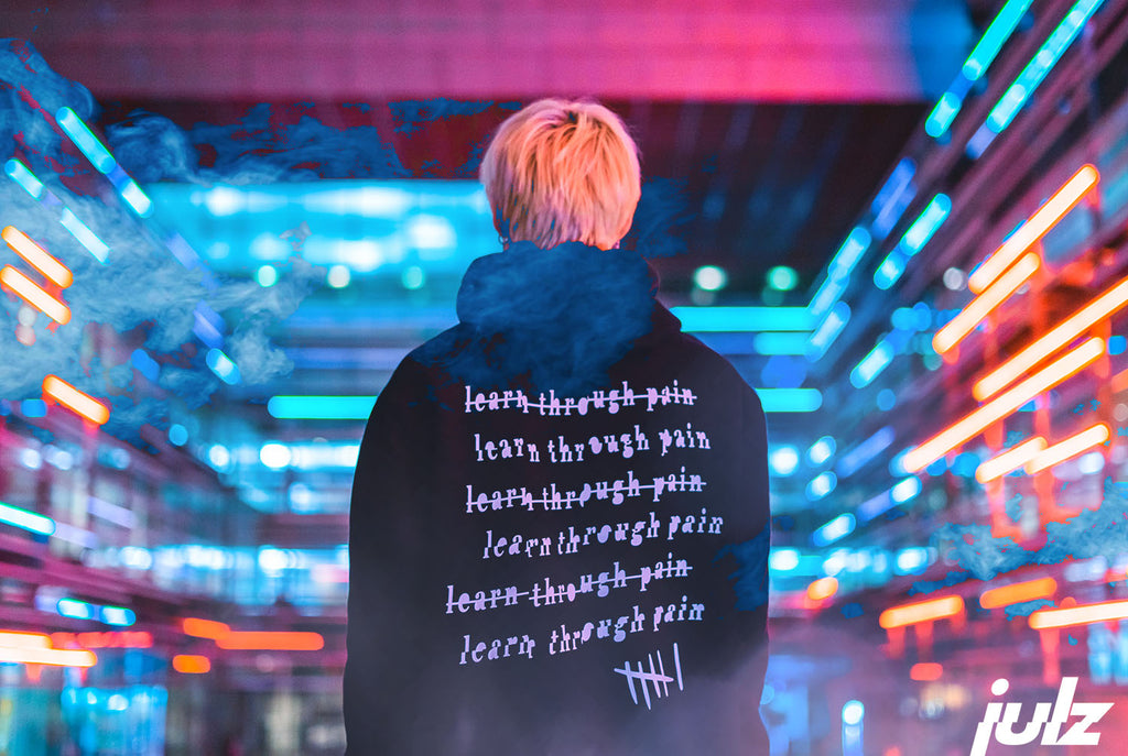 Learn Through Pain Hoodie