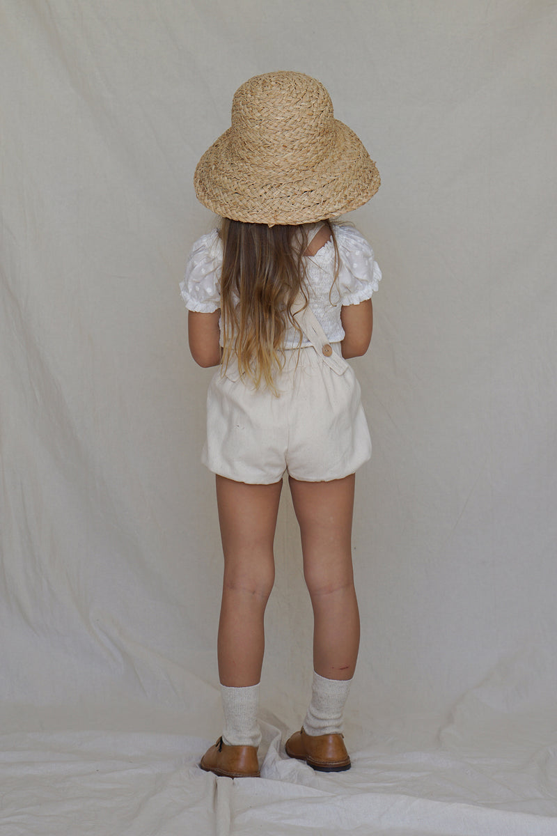 Anais Playsuit ~ Naturel