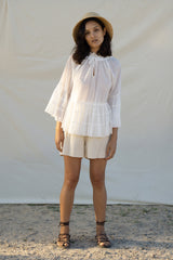 Bella Blouse - Blanc