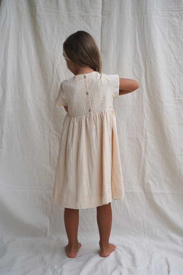 Delfina Dress ~ Perle Broderie