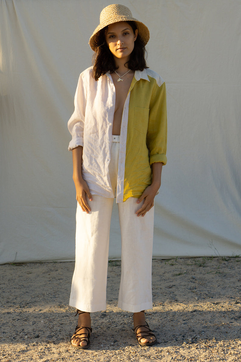 Palma Pant - Antique Blanc