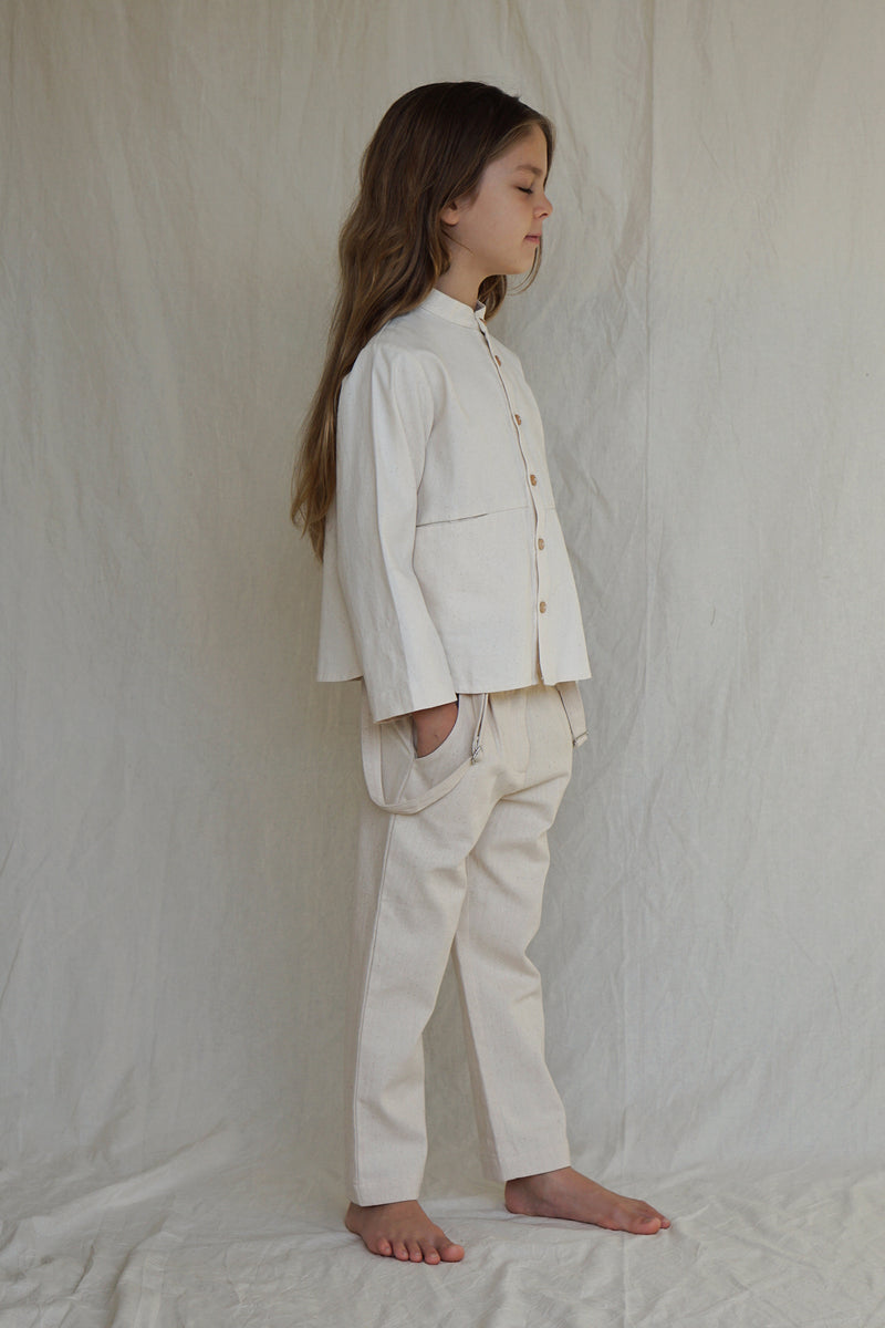 Emile Shirt ~ Naturel