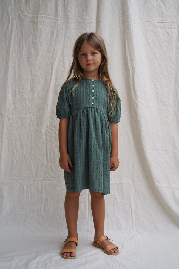 Lilou Dress ~ Aegean Green