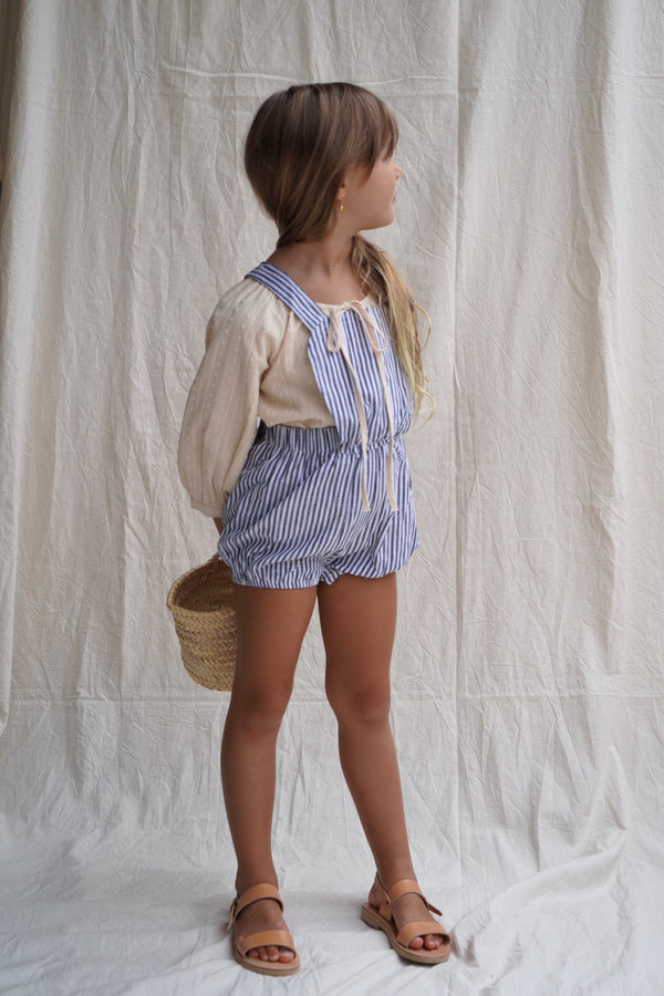 Anais Playsuit ~ St Tropez Stripe