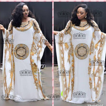 2018 (L-XXXL) New Fashion Chiffon Super Size African Loose Long Dashiki Traditional Party Dress For Lady  XF05#