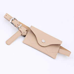 2018 New Fashio Metal Pin Buckle Waist Pack Belt for Dress Female Belt bag Pocket Decorative Waistband for Woman Pu Wide belt