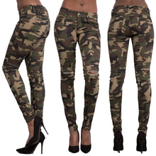 2018 Summer Camouflage Military Pants Women Slim Fit Female Jogger Pants Ladies Fitness Workout Trousers WDC1265