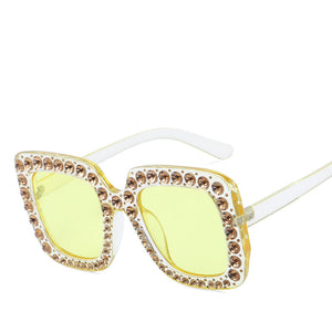 2019 New Luxury Square Sunglasses Women Brand Designer Fashion Retro Vintage Sun Glasses For Women Female Ladies Sunglass UV400