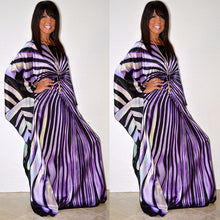 2018 New African Dresses for women dashiki clothes of Zebra Stripe maxi dress free size Dresses women Robe Africaine lady vet