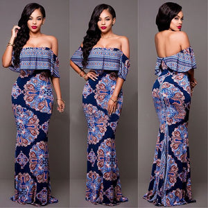 African Dresses Dress 2018 Clothing Dresses Africa Bazin Riche For